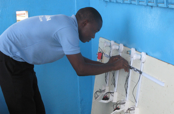 Vocational training in Ghana