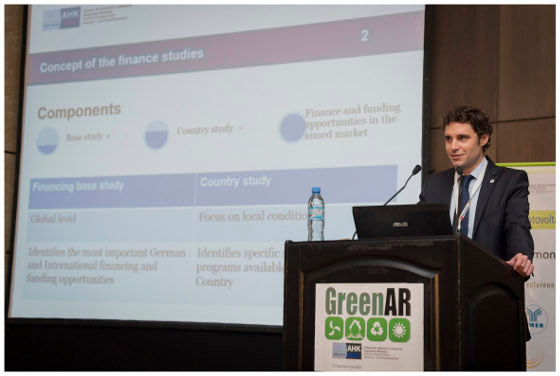 Lecture at the financing event GreenAR in Buenos Aires