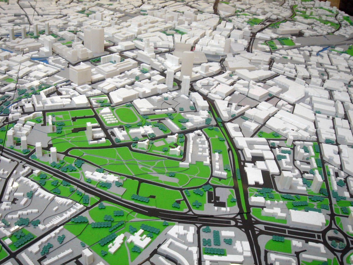 3D model for urban development