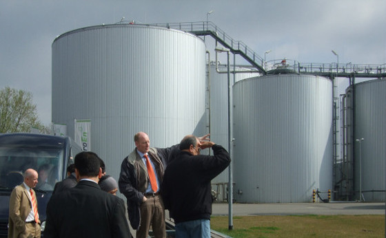 Study tour on biogas