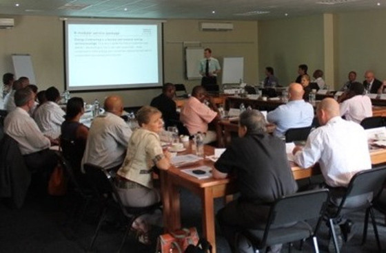 Training on cogeneration in South Africa