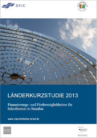 Finanzierung Solarthermie in Namibia 2013