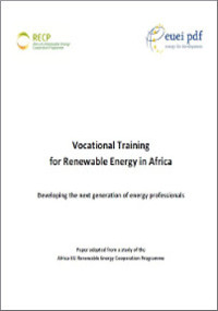 Vocational training for EE in Africa 2014